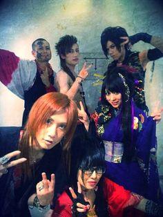 Wagakki Band Visual Kei, Rock Music, Kawaii, Cool Bands, Samurai, Rock Girls, Cosplay, Songs, Random