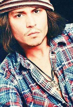 Johnny Depp's eyes- those big, almost black eyes are mesmerizing.