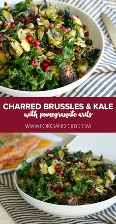 Charred Brussels Spr