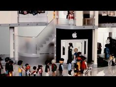 Playmobil Apple store- Oh my goodness I laughed but at the same time I kind of want one