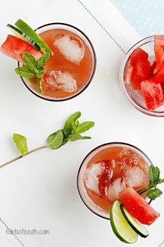 Watermelon Cucumber & Mint Cooler
