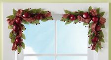 Collections Etc - Country Apple Floral Corner Decorations Collections Apple Decorations, Gold Christmas Decorations, Christmas Mantels, Holiday Decor, Floral Decorations, Apple Kitchen Decor, Kitchen Decor Themes, Rustic Kitchen Decor, Country Kitchen