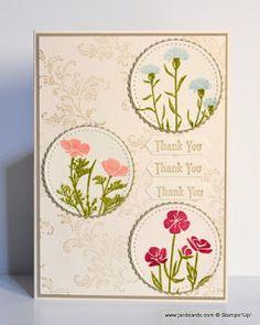 JanB Handmade Cards Atelier: Still Wild About Flowers
