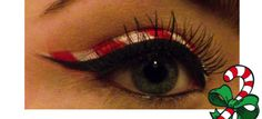 Candy Cane Eye Liner