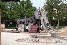 Awesome Animal Shaped Playground | 10 Ridiculously Cool Playgrounds Pt 2 - Tinyme Blog