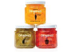 Packaging Conservas Organics diseñado por Sabana Kreativos.