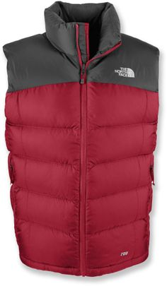 A sleeveless version of the classic, high-loft down jacket—The North Face Nuptse 2 down vest. #REIGifts