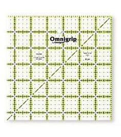 Omnigrip Neon Quilter's Ruler 6.5'' x 6.5''