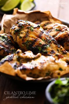 Cilantro Lime Grilled Chicken | Chef in Training