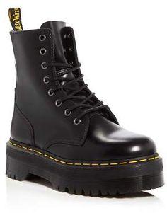 0a87589a2cb Dr. Martens Jadon Platform Booties Military Fashion