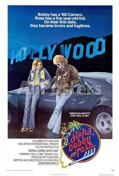 Aloha, Bobby and Rose Movies Poster - 69 x 102 cm