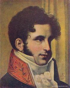 Orest Kiprensky Portrait of M.M.Cherkasov, 1827 oil painting for ...