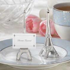 I know literial but maybe a touch of eiffel tower.  Can use to label foods?