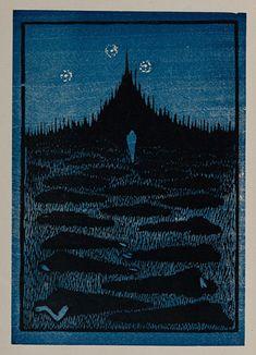 藤森静雄『夜』1914年 愛知県美術館蔵