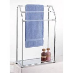 Check out the Organize It All 62443W-1 3 Bar Towel Rack with Bottom Shelf priced at $87.34 at Homeclick.com.