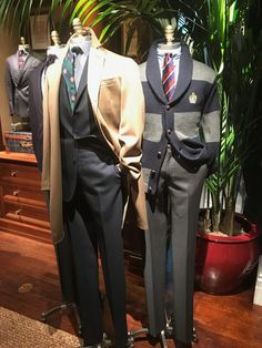 Forty-Two Fall 2018 Polo RL Rhinelander Mannequins - Ivy Style Preppy Mens Fashion, Suit Fashion, Work Fashion, Prep Fashion, Classic Fashion, Preppy Outfits, Preppy Style, Preppy Clothes, Ralph Lauren Style