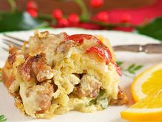 The New Atkins Made Easy Recipe: Breakfast Casserole #lowcarbrecipe #atkins