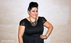 NEW today!! Penny Chic's Little Black Dress #ootd #plussize
