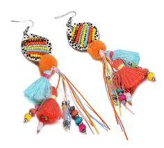 Bead Bohemian Tassel Earrings    #zepharajewellery #earrings #statement #bohemianearrings #festivaljewellery #festival #bohochic #tassels #gypsy #summer #ss17     www.zepharajewellery.com Festival Jewellery, Boho Chic, Bohemian, Tassel Earrings, Gypsy, Tassels, Beads, Summer, Jewelry