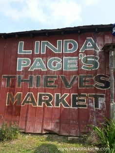 Page's Thieves Market {dreamy vintage galore} in SC