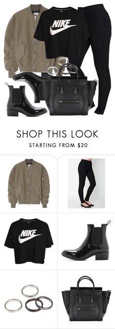"""""""Style #11745"""" by vany-alvarado ❤ liked on Polyvore featuring Fear of God, NIKE and Jeffrey Campbell"""