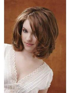 Lace Front Wigs with Wavy Shoulder Length Hair