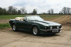1987 Aston Martin V8 Vantage Volante. From 'The Living Daylights'. (Gizmos not pictured)