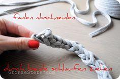 GrinseStern: zpagetti armband {DIY} ...