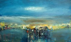 Nael Hanna, Sea Elements, Mixed Media | Scottish Contemporary Art
