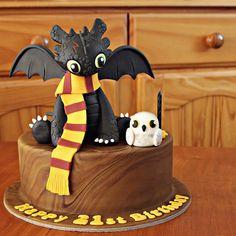 Harry Potter Cake (con la Sombra Nocturna o chimuleo)