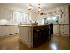 Love the French provencial style kitchens.