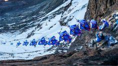 Breathtaking POV Wingsuit Flight from Mt. Kilimanjaro
