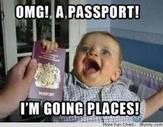 Passport for infant!
