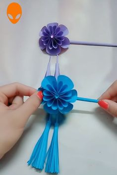 cool origami: How to origami instructions, Let's origami step by step, Fun and easy origami steps with lots of pic… in 2020 Diy Origami, Origami Mouse, Paper Crafts Origami, Paper Crafting, Paper Flowers Craft, Flower Crafts, Diy Flowers, Origami Videos, Diy Papier