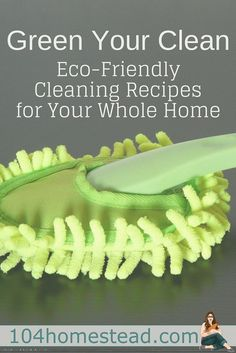 Household cleaners are one of the most hazardous things we expose ourselves to on a day to day basis. Here are healthier alternatives that will work just as hard. Green clean recipes for everything in your home. Seriously, just about everything.