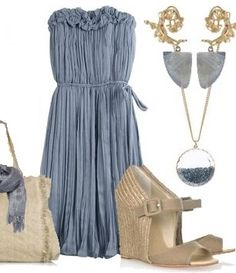 light blue and beige