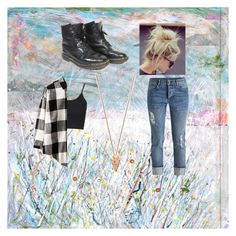 Ariel Morgan's outfit - Being creative by ramadiii on Polyvore featuring polyvore fashion style Topshop Dr. Martens Pamela Love WALL clothing