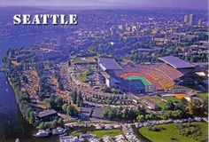The University of Washington from the air.