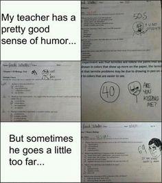 I wish I had a teacher like this!