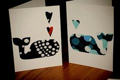 Homemade cards; Debbie, this should be one of our crafts one day!