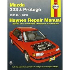 Haynes Repair Manuals Mazda 323 & Protege, 90-00 (Excludes I