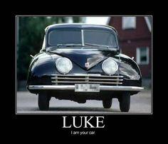 Luke, I am your car.