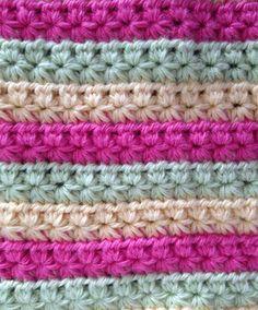 Crochet Star Stitch inspiration