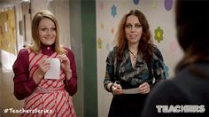 Yea, they don't know each other. New Episodes of Teachers premiere Wednesdays 10:30/9:30c on TV Land. Executive Produced by Alison Brie, Ian Roberts and Jay Martel and starring comedy troupe, The Katydids. Click to discover a sneak peek.