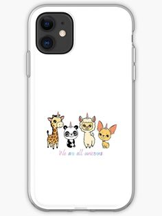 We are all unicorns in our hearts. Love unicorns. • Millions of unique designs by independent artists. Find your thing. Unicorn Iphone Case, Unicorns, Iphone Case Covers, Iphone 11, Finding Yourself, Hearts, Artists, Unique, Design