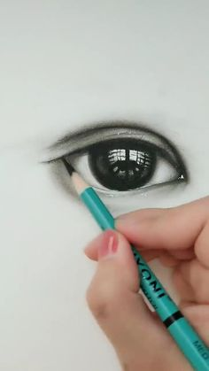 3d Art Drawing, Art Drawings For Kids, Art Drawings Sketches Simple, Pencil Art Drawings, Realistic Drawings, Cool Drawings, Eye Drawing Tutorials, Art Tutorials, Drawing Techniques