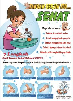 7 langkah cuci tangan Weight Loss Detox, Weight Loss Drinks, Fast Weight Loss, Poster Drawing, Keeping Healthy, Health Education, Lose Belly, Kids And Parenting, Fun Activities