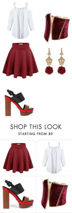 """""""Hanging with my girls"""" by renee-pea on Polyvore featuring Michael Kors, GUESS by Marciano and Dolce&Gabbana"""