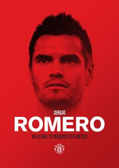 Welcome to #mufc, Sergio Romero! #WelcomeRomero