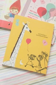 Chibi Run Kawaii Chibi Notebook - Giraffe